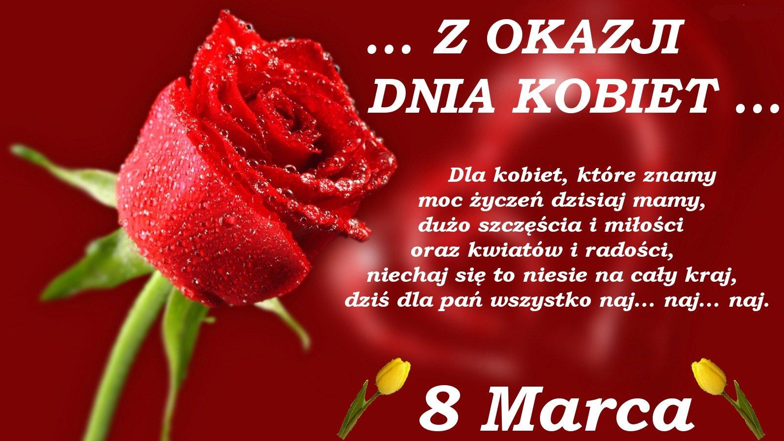 8 Marca Dzień Kobiet Zsgrabice